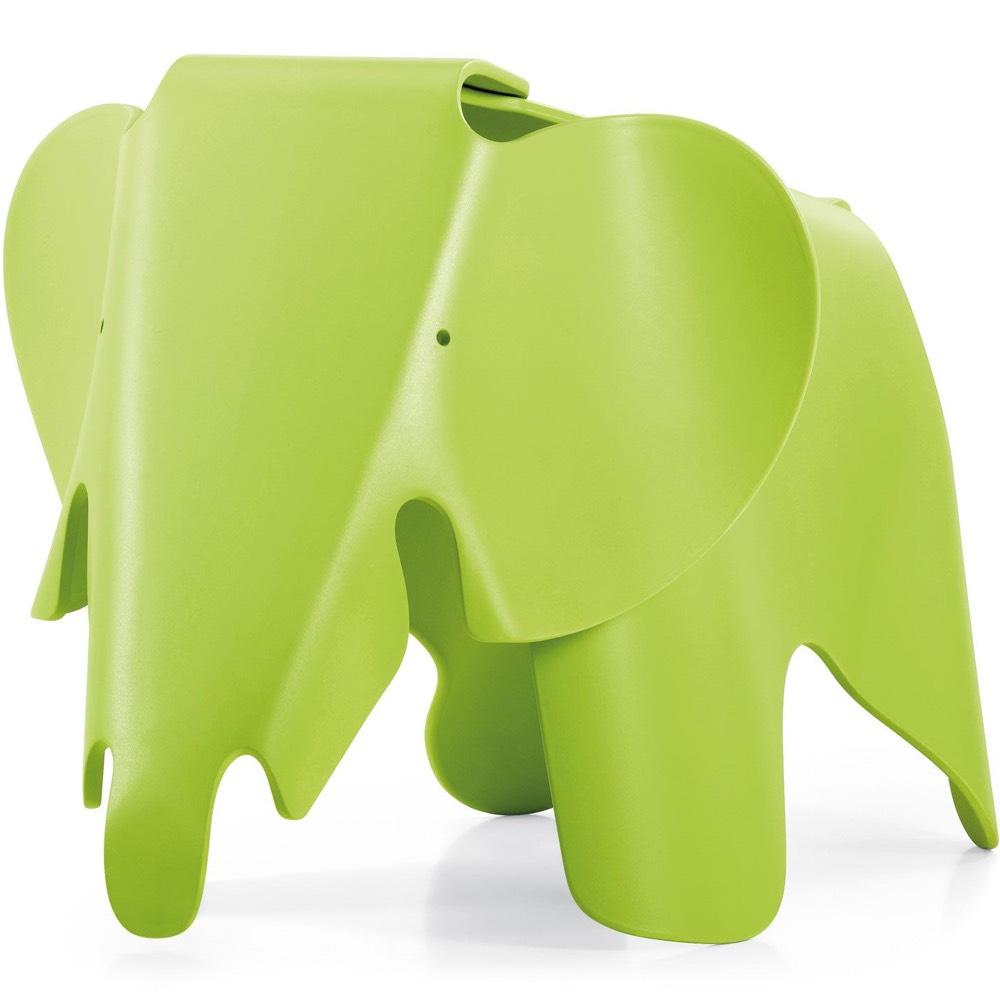 Vitra Eames Elephant kruk groen