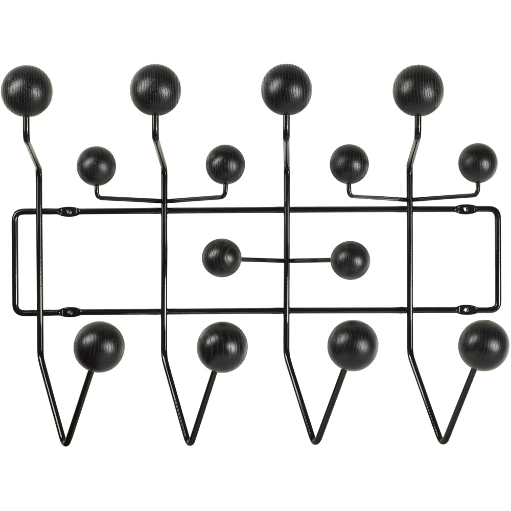 Vitra Eames Hang-it-All kapstok zwart essen