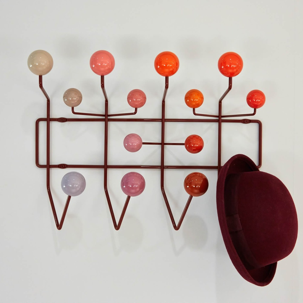 Vitra Eames Hang-it-All kapstok rood