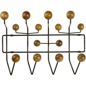 Vitra Eames Hang-it-All kapstok notenhout