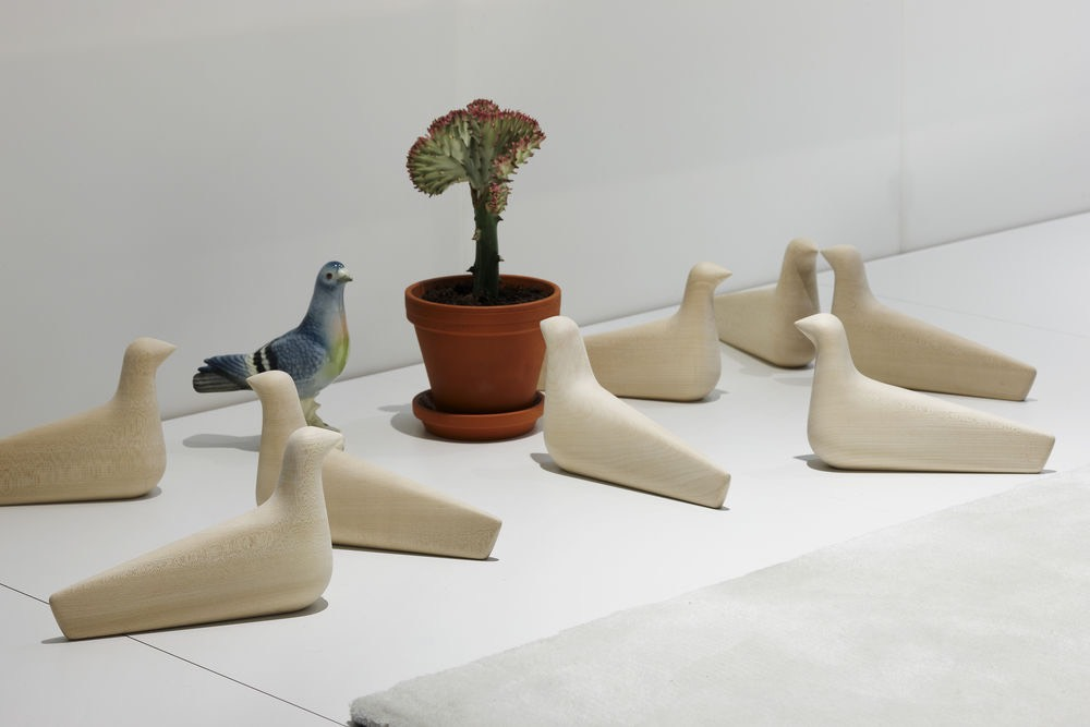 Vitra L'Oiseau houten vogel