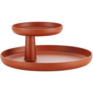 Vitra Rotary Tray schaal steenrood