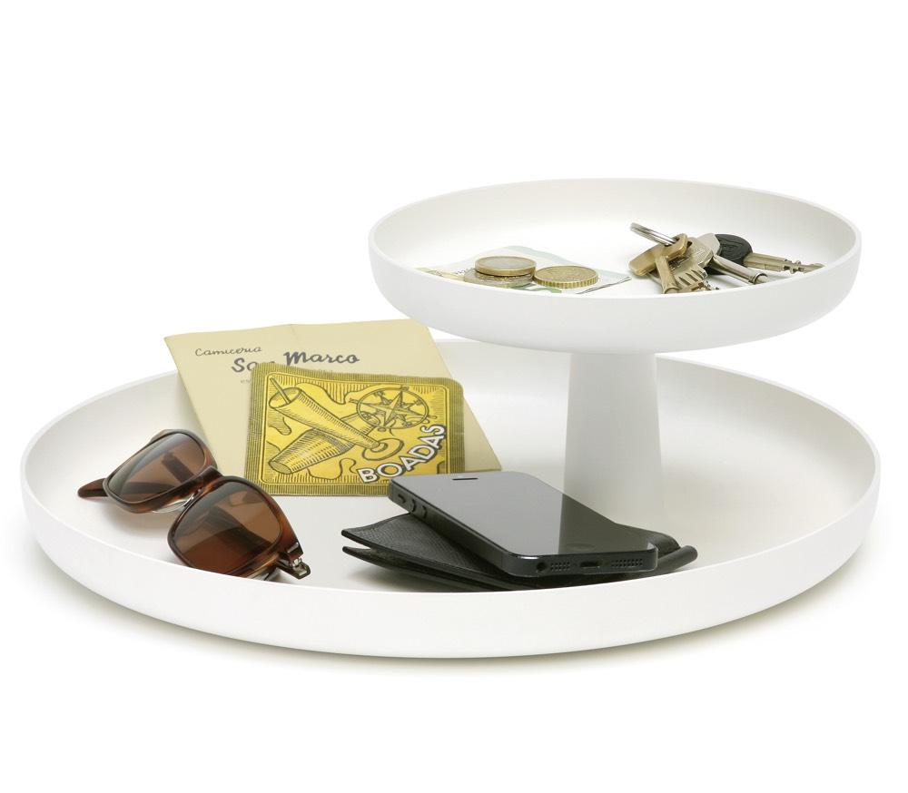Vitra Rotary Tray schaal bruin