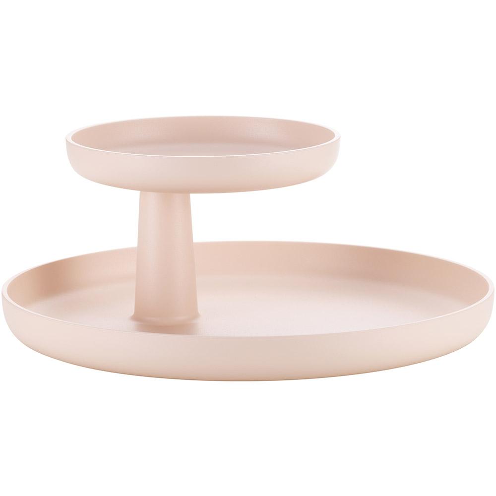 Vitra Rotary Tray schaal roze