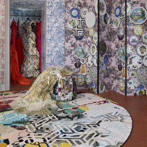 Christian Lacroix tapijt Grand Tour Tomette