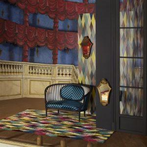Christian Lacroix tapijt Mascarade Arlequin