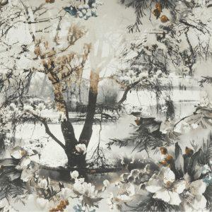 Jean Paul Gaultier behang Brume terra