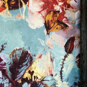 Jean Paul Gaultier behang Flamboyant blauw