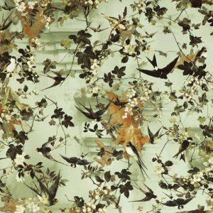 Jean Paul Gaultier behang Hirondelles Automne