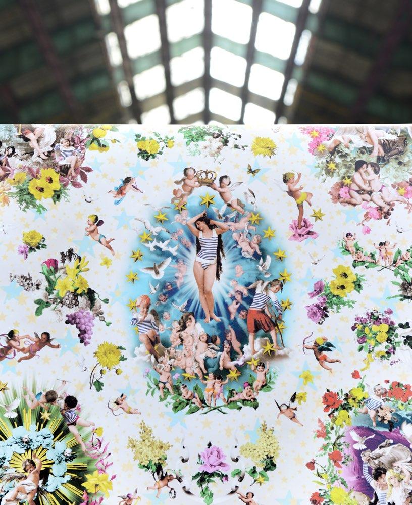 Jean Paul Gaultier behang Recreation