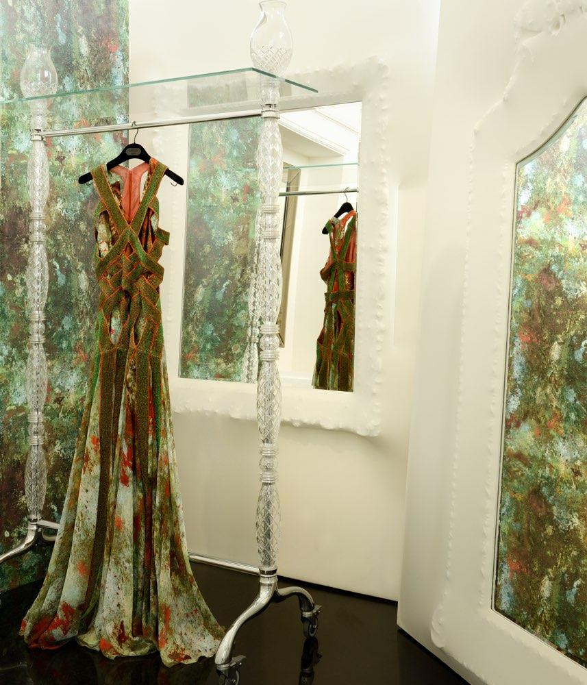 Jean Paul Gaultier behang Vert De Gris