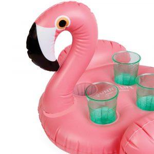 Sunnylife opblaasbare drankjeshouder Flamingo