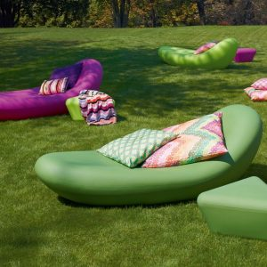 Missoni Home outdoor lounger ligstoel Petal