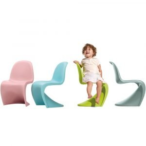 Vitra Panton Junior Chair donker lime