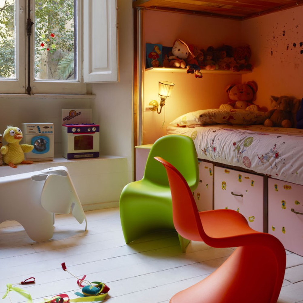 Vitra Panton Junior Chair klassiek rood
