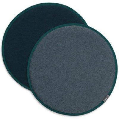 Vitra Seat Dot dubbelzijdig zitkussen Blue-grey - Petrol