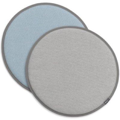 Vitra Seat Dot dubbelzijdig zitkussen Grey - Ice-blue