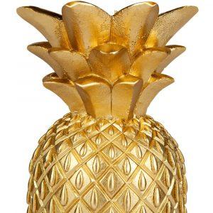 Sunnylife Ananas kaars goud