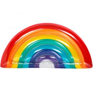 Sunnylife luxe luchtbed Regenboog