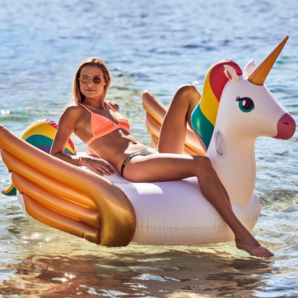 Sunnylife luxe opblaasbare float Eenhoorn XL
