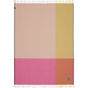 Vitra Colour Block Blanket plaid roze-beige