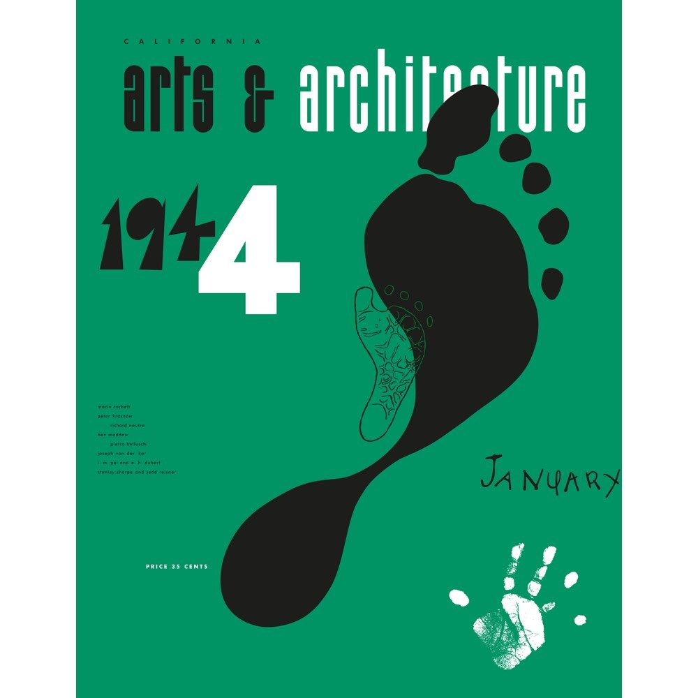 Vitra Eames poster Arts & Architecture Jan 1944