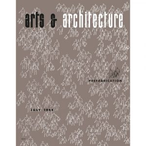 Vitra Eames poster Arts & Architecture Jul 1944