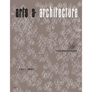 Vitra Eames poster Arts & Architecture Jul 1944