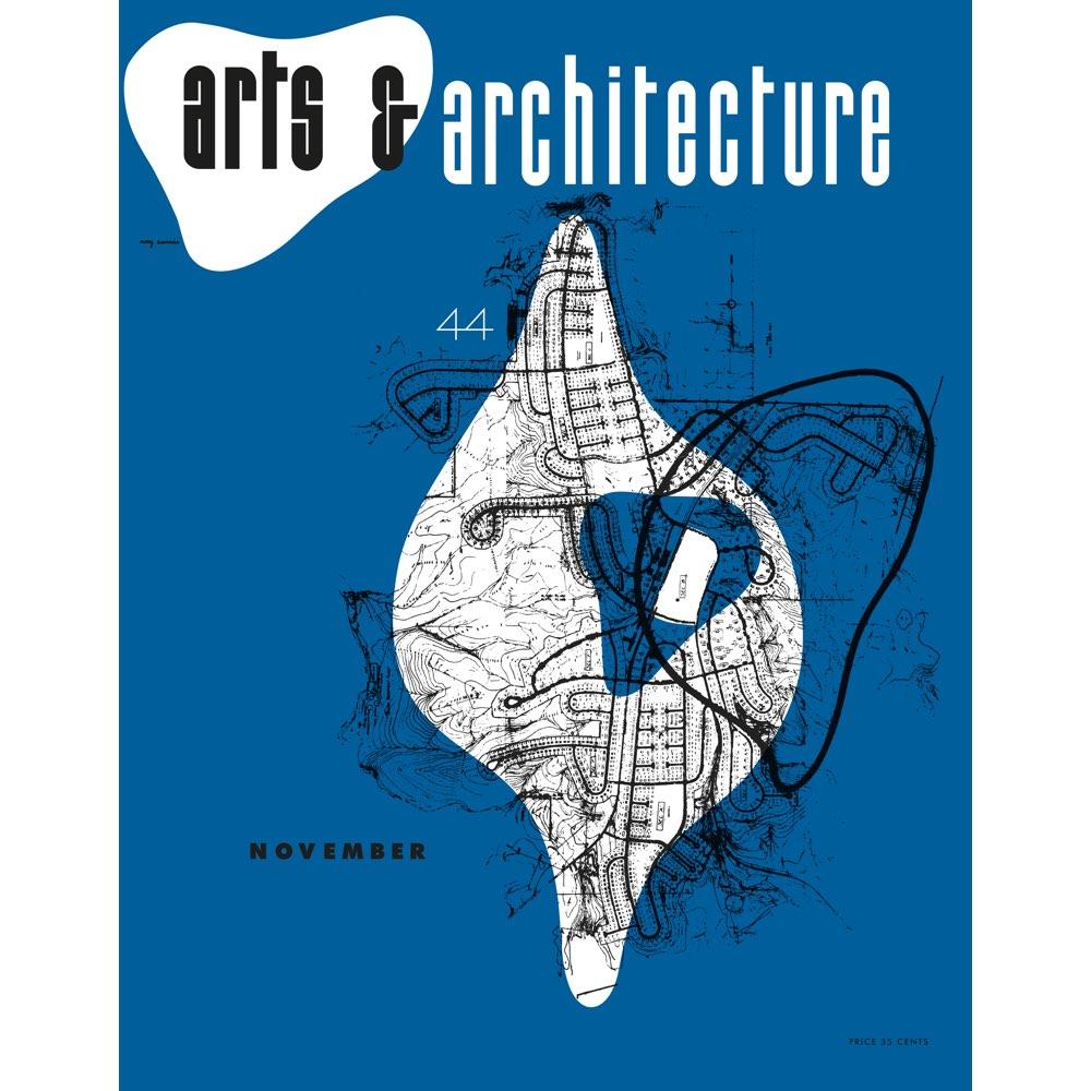 Vitra Eames poster Arts & Architecture Nov 1944
