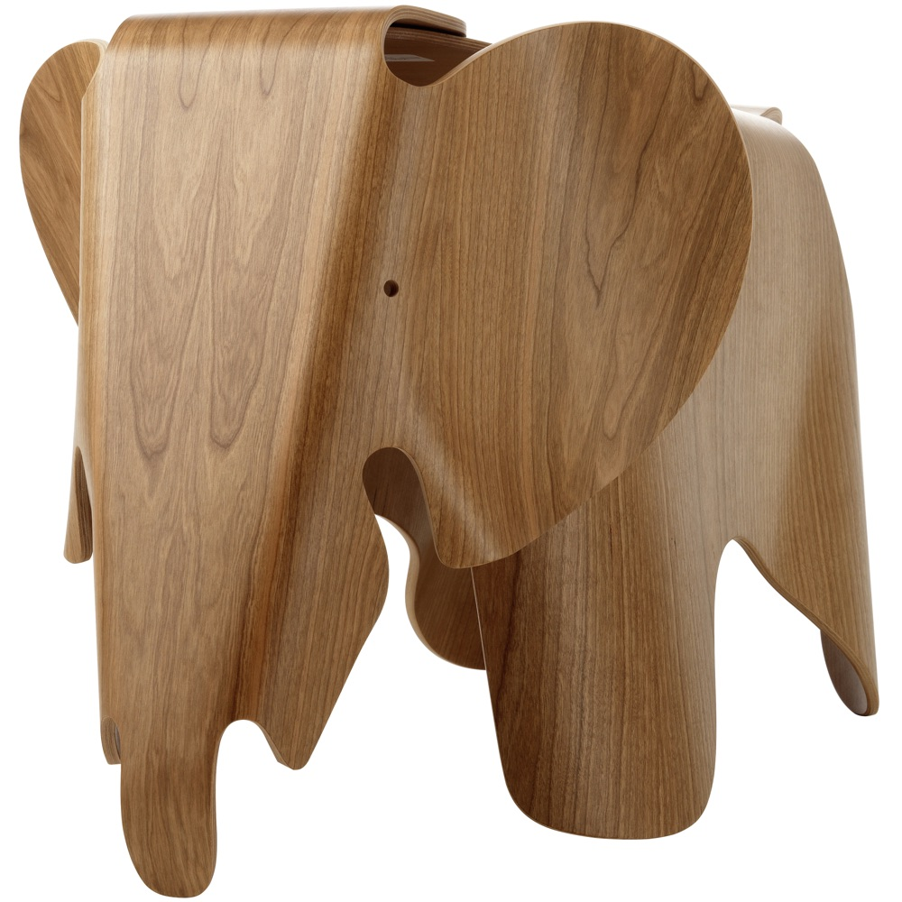 Vitra Eames Elephant kruk Plywood