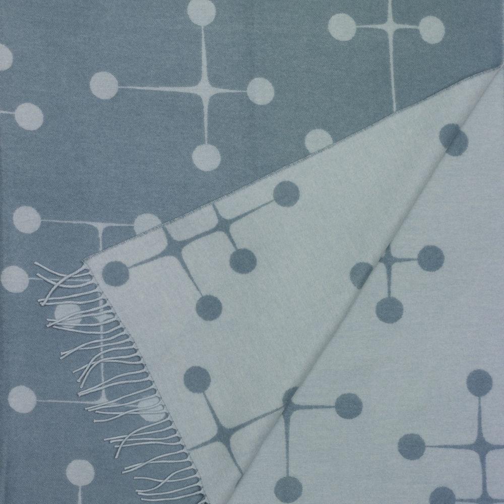 Vitra Eames plaid Dot Pattern lichtblauw