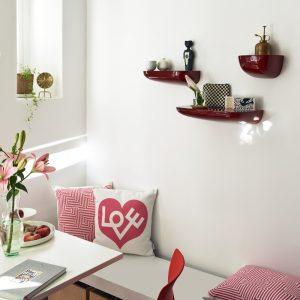 Vitra kussen Love roze