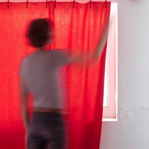 Kvadrat Ready Made Curtain Frozen gordijnstof