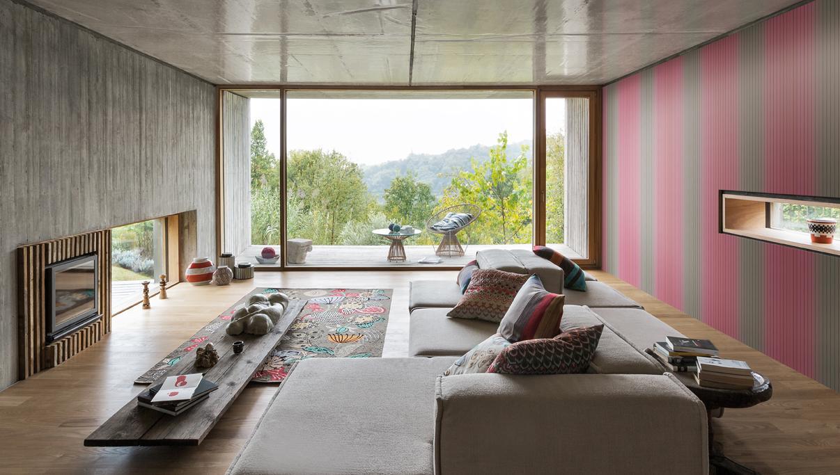 Missoni Home behang Vertical Stripe 10074