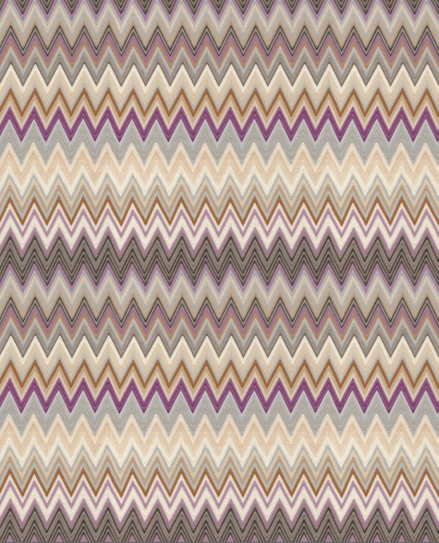 Missoni Home behang Zigzag Multicolore 10062