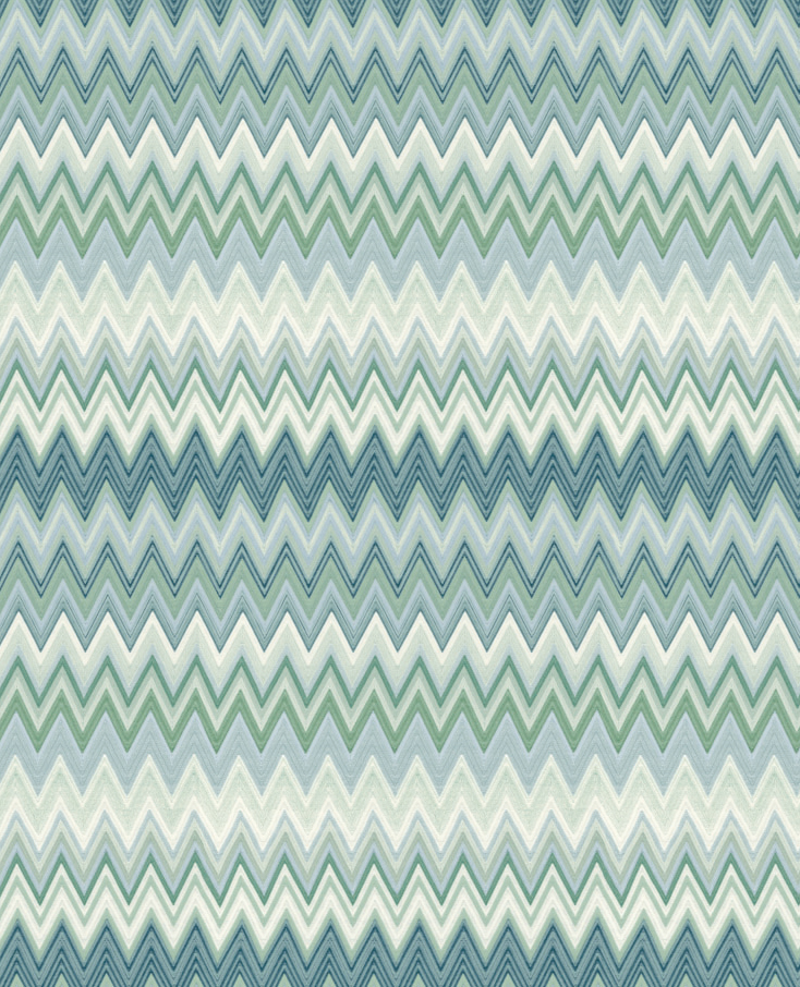 Missoni Home behang Zigzag Multicolore 10063