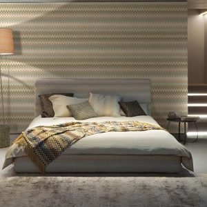 Missoni Home behang Zigzag Multicolore 10065