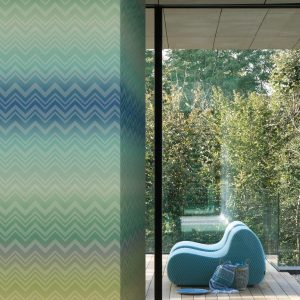 Missoni Home behang paneel Zigzag Sfumato 20090