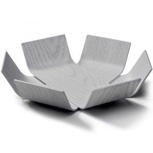 BEdesign Lily schaal eiken wit