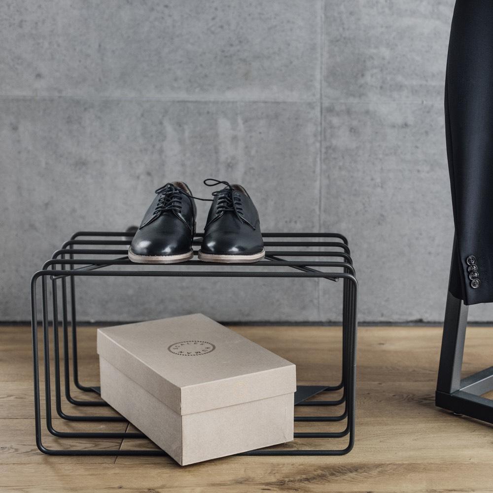 BEdesign Lume schoenenrek zwart