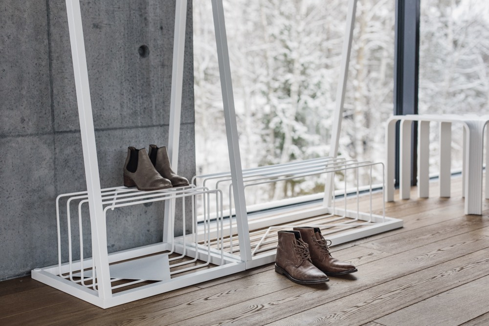 BEdesign Lume schoenenrek wit