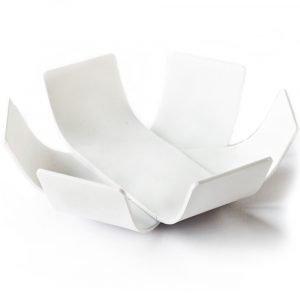 BEdesign Lily mini schaal wit - set van 2