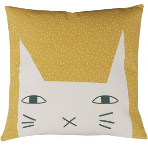 Donna Wilson kussen Cat Ears turquise