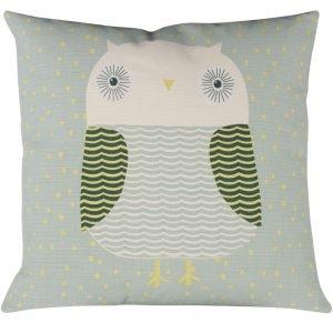 Donna Wilson kussen Owl groen