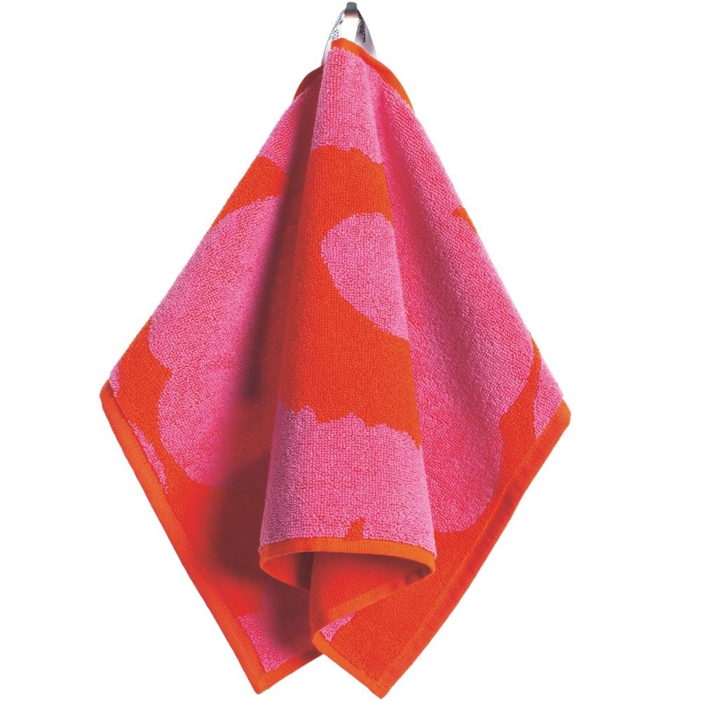 Marimekko gastendoek Unikko rood-roze