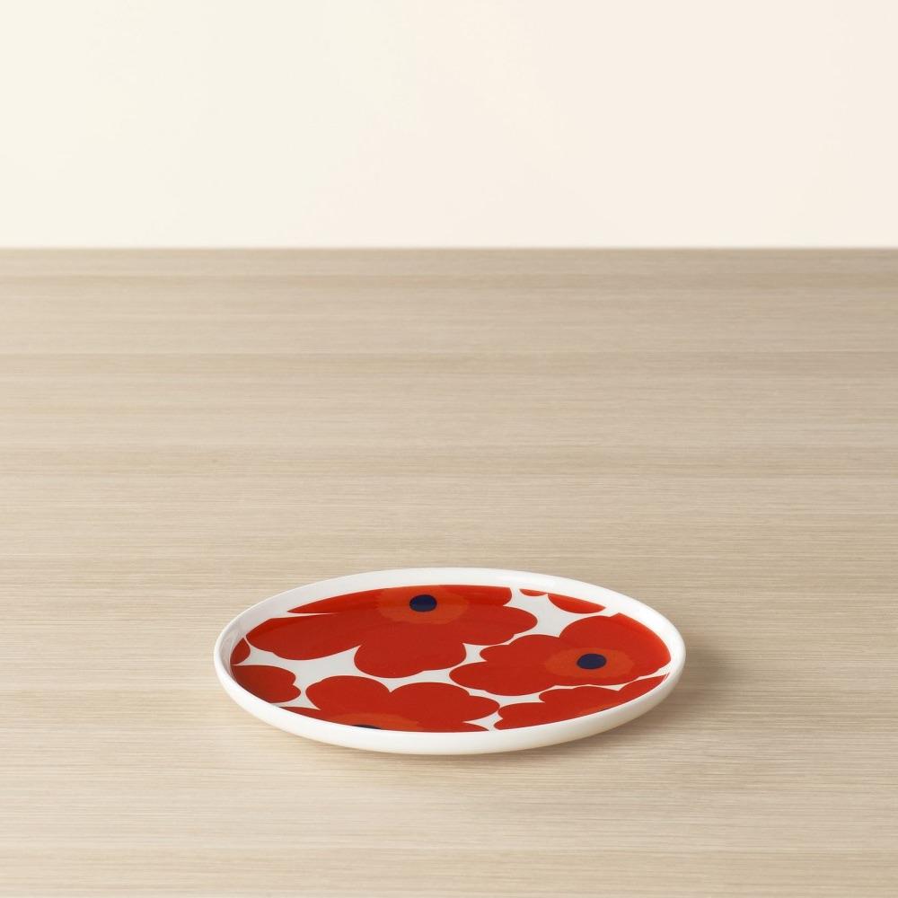 Marimekko bord Unikko rood