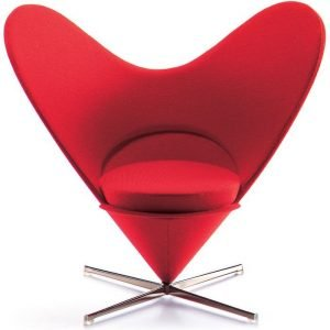 Vitra Heart-shaped Cone miniatuur