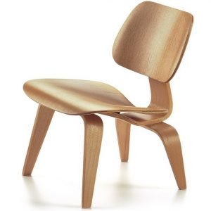 Vitra LCW stoel naturel miniatuur