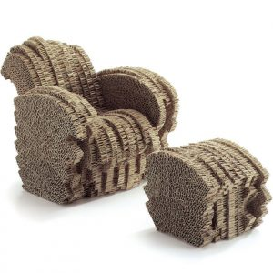 Vitra Little Beaver stoel miniatuur