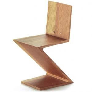Vitra Zig Zag Chair miniatuur